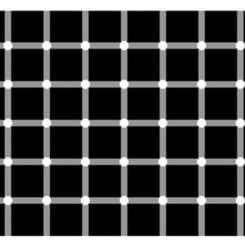 Y a-t-il plus de points noirs que de points blancs?
