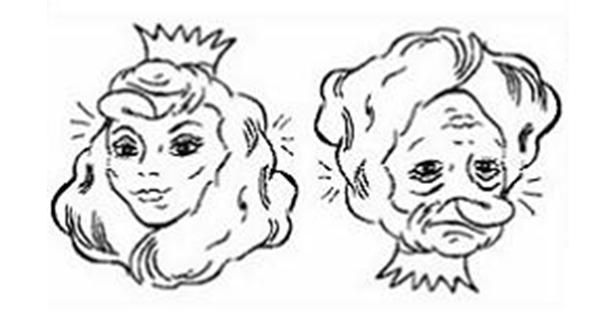 Illusions d optique g om trie et dessin en maths et sciences les cours de r cr - Mini coloriage illusion d optique ...